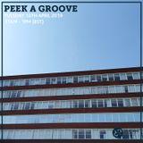 Peek a Groove 16th April 2019