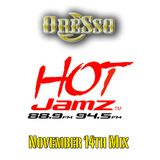 Nov 14th HotJamz Mid-Day Mix (Clean)