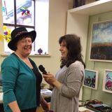 Erica Smith talks to Artist Rosemarie Langtry at Rosemarie's new Studio in Ballynahown