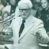 Dr. J. Harold Smith preaching at Tennessee Temple/Highland Park Baptist in 1975.