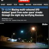 djSINyELo - UF-GLOW Blazing multi-coloured UFO dubbed 'guest from outer space' 5.19.2020.peVi3W!!...