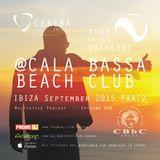 CERERA pres. Echo Of The Universe 008 @CALA BASSA BEACH CLUB IBIZA September 2015 PART 2