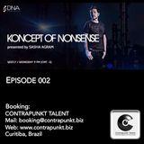 Koncept of Nonsense EPISODE 002 mixed by SASHA AGRAM