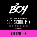DJ Stevie Nicholl - Old Skool Mix Vol 9 (November 2012)