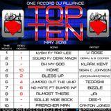 May '16 Top 10 Mixset - @DJPDogg