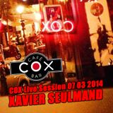 COX Live Session Xavier Seulmand 07/03/2014