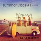summer vibes #1 house | continous Mix | August 2015