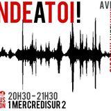 Onde à toi #6 - Radio campus Avignon - 09/04/2014