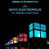 Electropolis @Lola Club (Mini Club) 25-1-2014