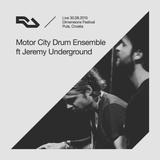 2015-08-30 - Motor City Drum Ensemble b2b Jeremy Underground @ Dimensions Festival (RA Live)
