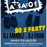 A SACO 90's PARTY 16-05-'14 SALAMANDRA2 (L'H, BCN)