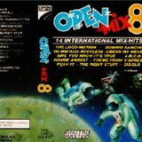 """Open Mix 8. """"Cara A"""". 1988. Santi Club, Fernando Empalmes, José Manuel Tijeras."""