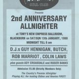 Blackburn 2nd Anniversary Jan 1990 Butch & Kitch