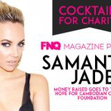 DJANDYD - COCKTAILS FOR CHARITY WITH SAMANTHA JADE