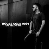 House Code #034 // Live at Radio One (DJ&Co)