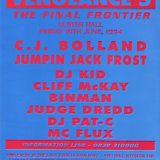 Jumping Jack Frost @ Vengeance 5 - Ulster Hall Belfast - 10-6-1994