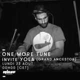 One More Tune #50 - Yola Guest Mix - RINSE FR - (22.08.16)