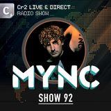 MYNC presents Cr2 Live & Direct Radio Show 092