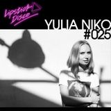 LIPSTICK DISCO EXCLUSIVE MIXTAPE #25 - YULIA NIKO