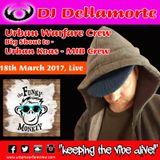 FUNKY MONKEY - Malta Live - DELLAMORTE - Urban Warfare Crew
