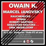 Marcel Janovsky DJ Set @ Dirk & Kais Geburtstag, 30.9.2011, 200 Club, Studio 672, Cologne