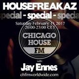 Housefreakaz Special, CHFM Feb 11 2017