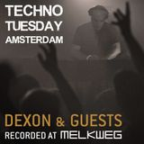 Techno Tuesday Amsterdam 059 with Dexon featuring Tomy DeClerque
