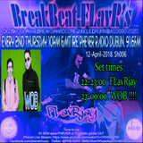 BreakBeat FLavR with FLavRjay & WOB (Live Drum'n'Bass) on PHEVER 91.6FM Dublin 12-APRIL-18 Sh006.