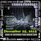 Stone Grooves & Deep Cuts on CoD Radio - December 25, 2015