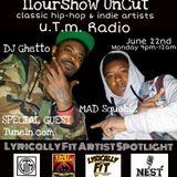 Mad Squablz & Dj Ghetto - IIourshow Uncut - 6-22-15
