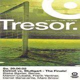 Daniel Benavente / Frank Yentner @ Detroit vs. Stuttgart - Tresor Berlin - 29.06.2002