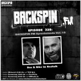 BACKSPIN FM # 328 - Sprechstunde Vol. 19
