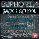 Diretta Radio Linea N°1 - Back 2 School - EUPHORIA - Chemical Room - Sabato 27 Settembre