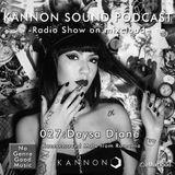 Kannon sound podcast 027: Deysa Diane