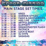 Kred - Tranzmission main stage