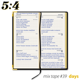 Mix Tape #39 : Days