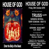 Nicky B @ House Of God - Tunnel Club Birmingham - 30.10.2015