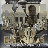 AFRICA IN YOUR EARBUDS #23: SAUL WILLIAMS - 'WE HAD KNOWN WATER VOL. 1'