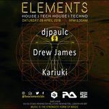 Elements Live Part 1 | April 2018