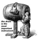 the drum is the most important instrument