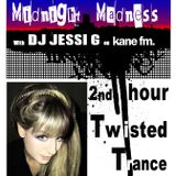 DJ JESSI G Live on Kane FM 103.7 2nd Hour - Twisted Trance & Tekno 08/12/12