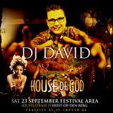 Dj David live @ House Of God - 23 September 17