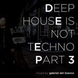 DEEP HOUSE IS NOT TECHNO 3