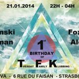 FOX - TFK BIRTHDAY