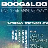 The Boogaloo - Music from the 1YR Anniversary Night