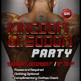 """Kingdom of Sodom"" Party (December 2016) @ Nob Hill Theatre - Mixed by Justin Simpson"
