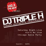 DJ Triple H on WBMX'S Saturday Night Live Ain't No Jive Chicago Dance Party 6/17/17