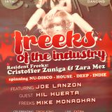 Freeks of the Industry show set - Cristoffer Zuniga & Zara Mez