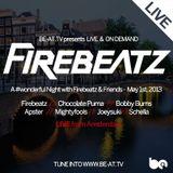 Apster - Live @ Firebeatz & Friends Amsterdam Studio (Netherlands) 2013.05.01.