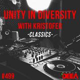 Kristofer - Unity in Diversity 499 (classics) @ Radio DEEA (04-08-2018)